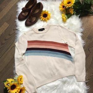 Forever 21 rainbow sweater